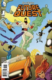 Future Quest #1 Action Heroes Variant