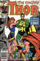 The Mighty Thor #359 Newsstand Edition