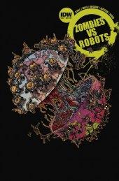 Zombies vs. Robots #4 Subscription Variant