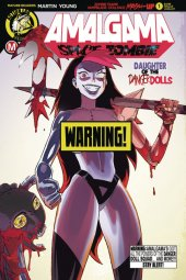 Amalgama Space Zombie #1 Cover B Young Risque