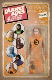 Planet of the Apes / Green Lantern #6 Unlock Vintage Figure Variant
