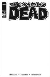 The Walking Dead #109 Blank Variant