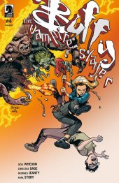 Buffy the Vampire Slayer Season 12: The Reckoning #4 Cover B Jeanty