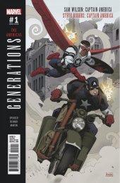 Generations: Captain Americas #1 Paolo Rivera Variant