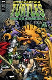 Teenage Mutant Ninja Turtles: Urban Legends #21