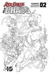 Red Sonja: Age of Chaos #2 1:50 Quah Sketch Virgin Cover