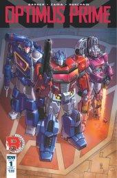 Optimus Prime #1 SUB-A Cover