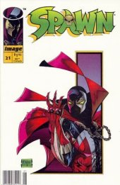 Spawn #21 Newsstand Edition