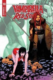 Vampirella / Red Sonja #10 Cover E Moss