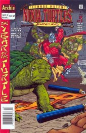 teenage mutant ninja turtles adventures #3