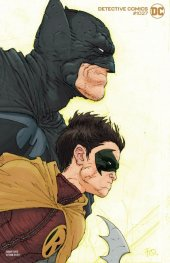 Detective Comics #1027 Cover E Frank Quitely Batman & Robin Variant