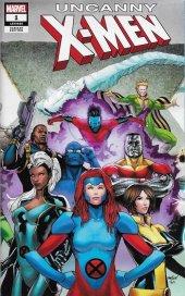 Uncanny X-Men #1 Marquez Wraparound Gatefold Variant