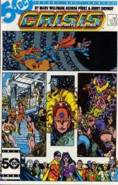 Crisis on Infinite Earths #11