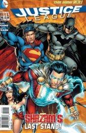 Justice League #21 Davis Variant