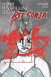 Killing Red Sonja #1 1:20 Ward Crimson Spot Color