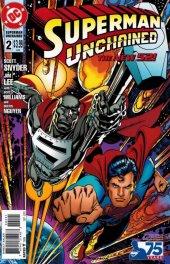 Superman Unchained #2 Superman Reborn Variant