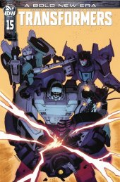 The Transformers #15 1:10 Incentive Variant