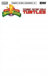 Mighty Morphin Power Rangers / Teenage Mutant Ninja Turtles #1 Blank Variant