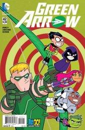 Green Arrow #42 Teen Titans Go Variant
