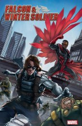 Falcon & Winter Soldier #1 Ziyian Liu Chinese New Year Variant