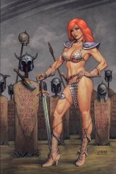 Red Sonja #16 Linsner Ltd Virgin Cover
