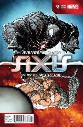 Avengers & X-Men: Axis #8 Inversion Variant