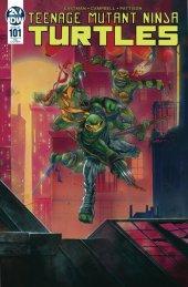 Teenage Mutant Ninja Turtles #101 Slabbed Heroes Exclusive Cover