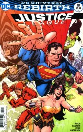 Justice League #18 Variant Edition