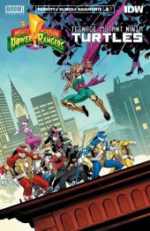 Mighty Morphin Power Rangers / Teenage Mutant Ninja Turtles #4