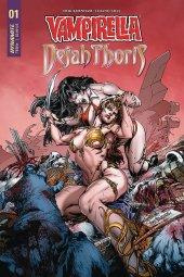 Vampirella / Dejah Thoris #1 Cover B Pagulayan
