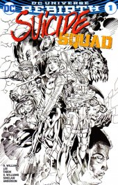 Suicide Squad #1 Jim Lee Ink Variant