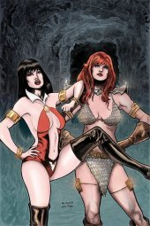 Vampirella / Red Sonja #12 Acosta Limited Virgin Cover