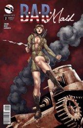 B.A.R. Maid #2 Cover B Qualano