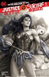 Justice League vs. Suicide Squad #1 Legacy Comics Exclusive Artgerm Copic Regular Variant