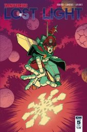 Transformers: Lost Light #5 SUB-A Cover
