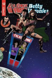 Red Sonja & Vampirella Meet Betty & Veronica #12 Cover E Staggs