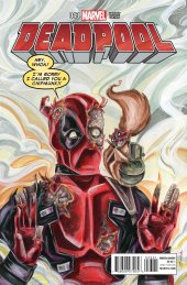 Deadpool #43 Women of Marvel Richard Variant