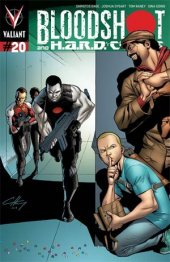 Bloodshot and H.A.R.D. Corps #20 25 Copy Incv Henry