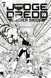 Judge Dredd: Under Siege #3 1:10 Incentive Variant