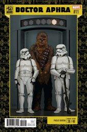 Star Wars: Doctor Aphra #11 Rivera 40th Anniversary Variant