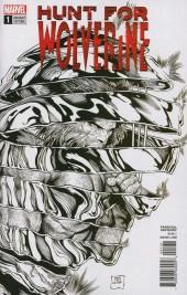 Hunt for Wolverine #1 B&W Variant