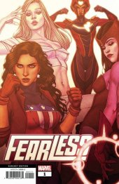Fearless #1 Jenny Frison Connecting Variant