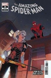 The Amazing Spider-Man #28 Bengal Bring on the Bad Guys Variant