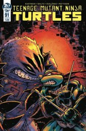 Teenage Mutant Ninja Turtles #91 Cover B Eastman