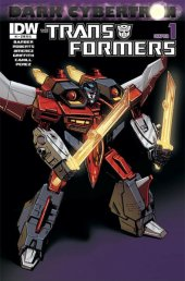 The Transformers: Dark Cybertron #1 Cover RIA