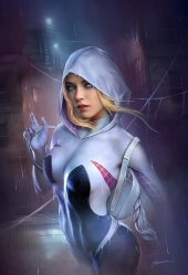 Ghost-Spider #1 Shannon Maer The Comic Mint Exclusive Virgin Variant