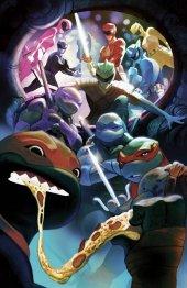 Mighty Morphin Power Rangers / Teenage Mutant Ninja Turtles #5 1:50 Incentive