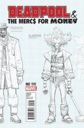 Deadpool & The Mercs for Money #2 Lim Variant