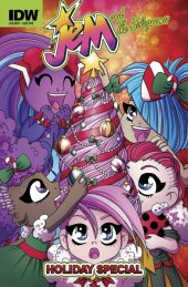 Jem and The Holograms Holiday Special #1 Subscription Variant