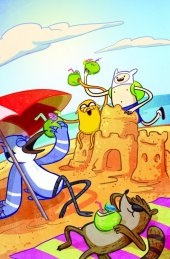 Adventure Time / Regular Show #1 Virgin Variant